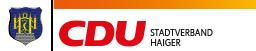 CDU Stadtverband Haiger Logo